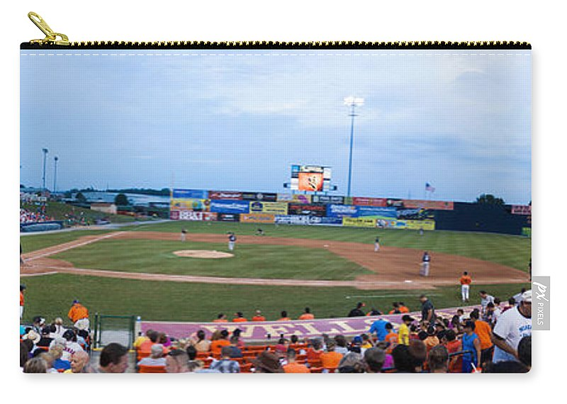 Baseball Carry-all Pouch featuring the photograph Harry Grove Stadium Frederick Keys by Thomas Marchessault