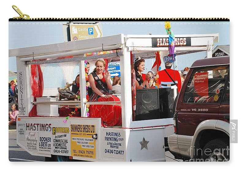 Queen Carry-all Pouch featuring the photograph Hastings Carnival Queen by David Fowler