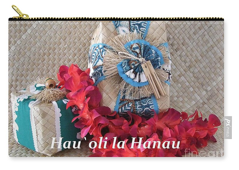 Mary Deal Carry-all Pouch featuring the photograph Hau Oli La Hanau by Mary Deal