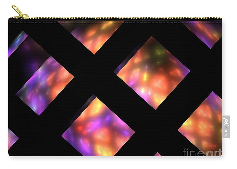 Apophsysi Carry-all Pouch featuring the digital art Haumea by Kim Sy Ok