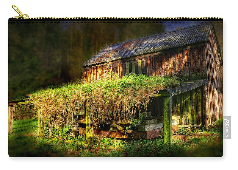Ancient Carry-all Pouch featuring the photograph Haunted House by Svetlana Sewell