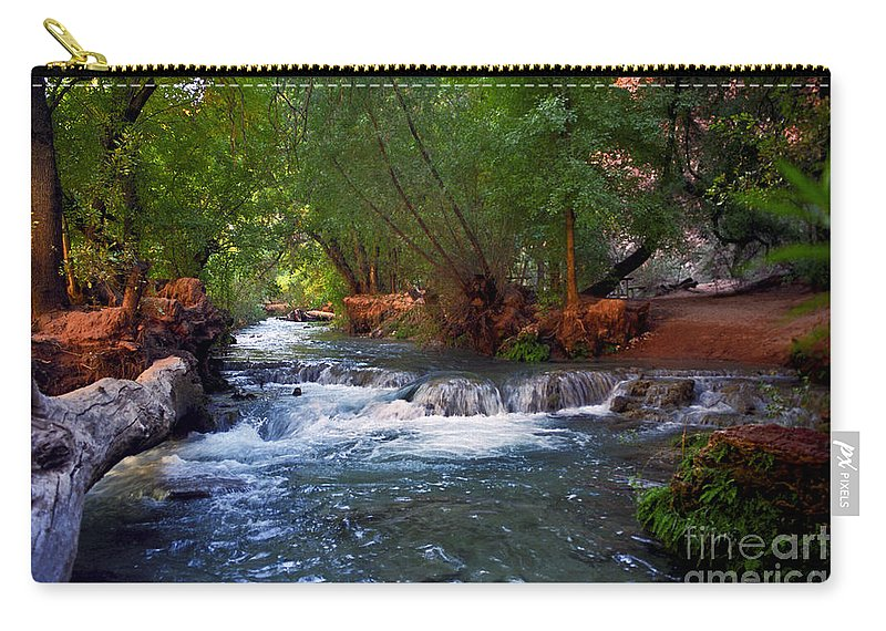 Arizona Carry-all Pouch featuring the photograph Havasu Creek by Kathy McClure