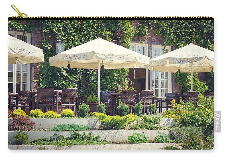 Restaurant Carry-all Pouch featuring the photograph Have A Drink by Pati Photography