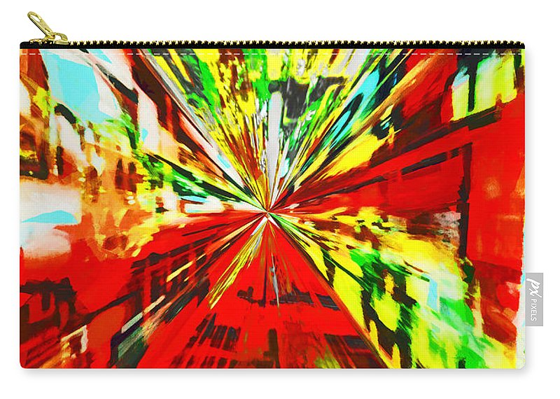 Hyperspace Carry-all Pouch featuring the digital art Have You Advertised In Hyperspace? by Steve Taylor