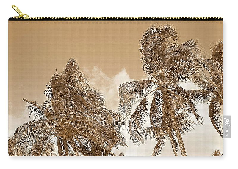 Landscape Carry-all Pouch featuring the photograph Hawaiian Breeze by Athala Carole Bruckner