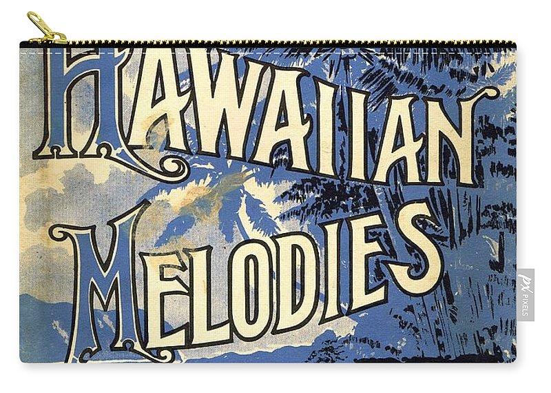 Nostalgia Carry-all Pouch featuring the photograph Hawaiian Melodies by Mel Thompson