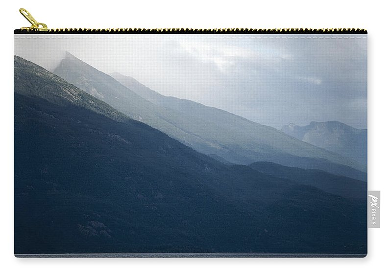 Americas Carry-all Pouch featuring the photograph Haze Layers by Roderick Bley