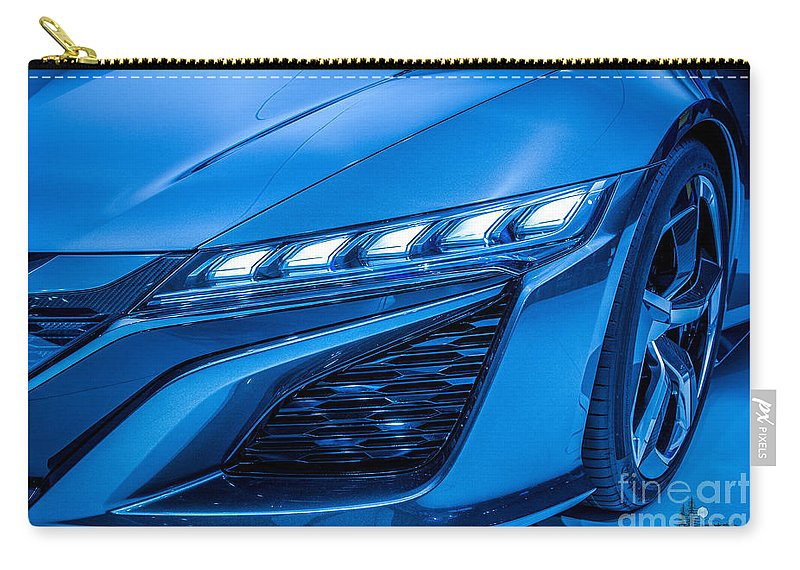 Concept Car Carry-all Pouch featuring the photograph Hcd 14 Genesis Concept by Ronald Grogan