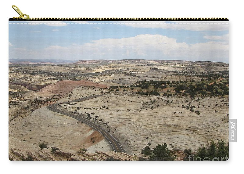 Utah Carry-all Pouch featuring the photograph Head Of The Rocks - Scenic Byway 12 by Sheryl Young