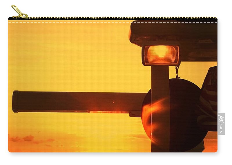 Sunset Carry-all Pouch featuring the photograph Heading Towards The Sun By Diana Sainz by Diana Raquel Sainz