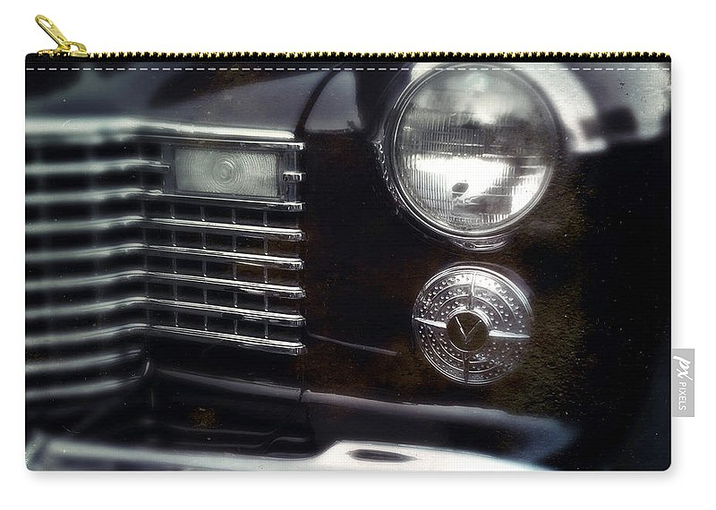 Classic Carry-all Pouch featuring the photograph Headlight by Tim Nyberg