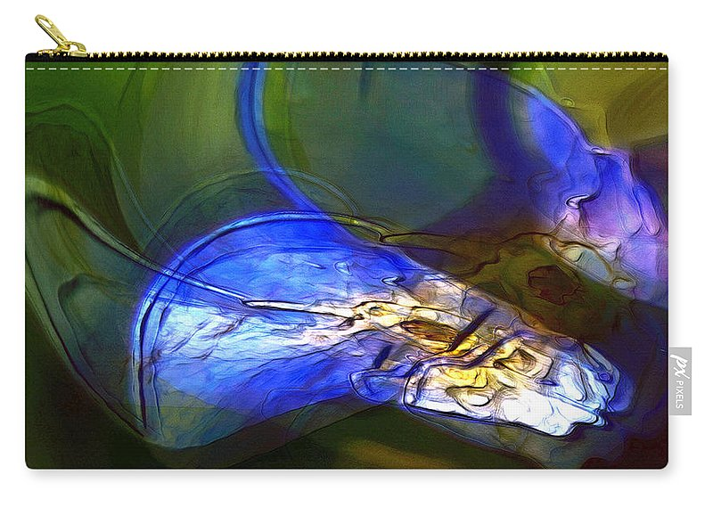 Abstract Carry-all Pouch featuring the photograph Hearing The Sound by Richard Thomas