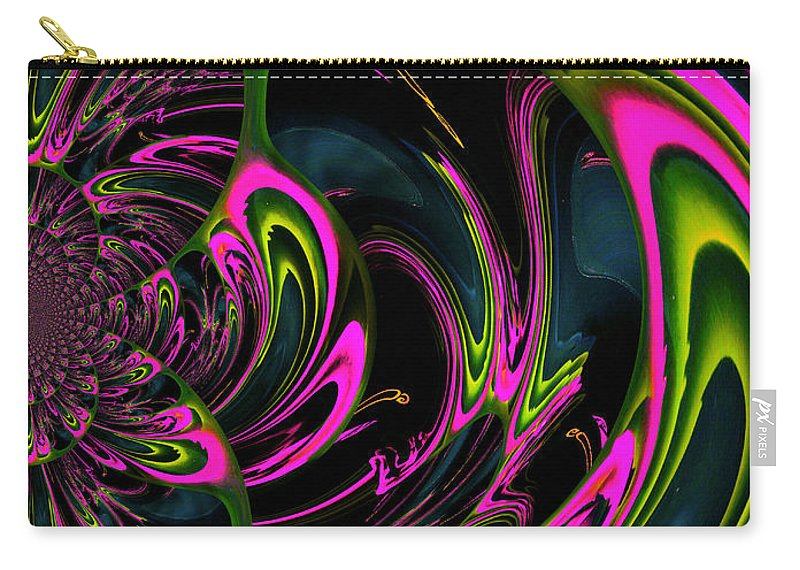 Heart Chakra Carry-all Pouch featuring the digital art Heart Chakra by Absinthe Art By Michelle LeAnn Scott