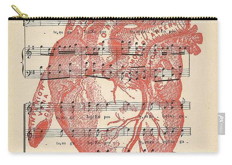 Heart Music Carry All Pouch