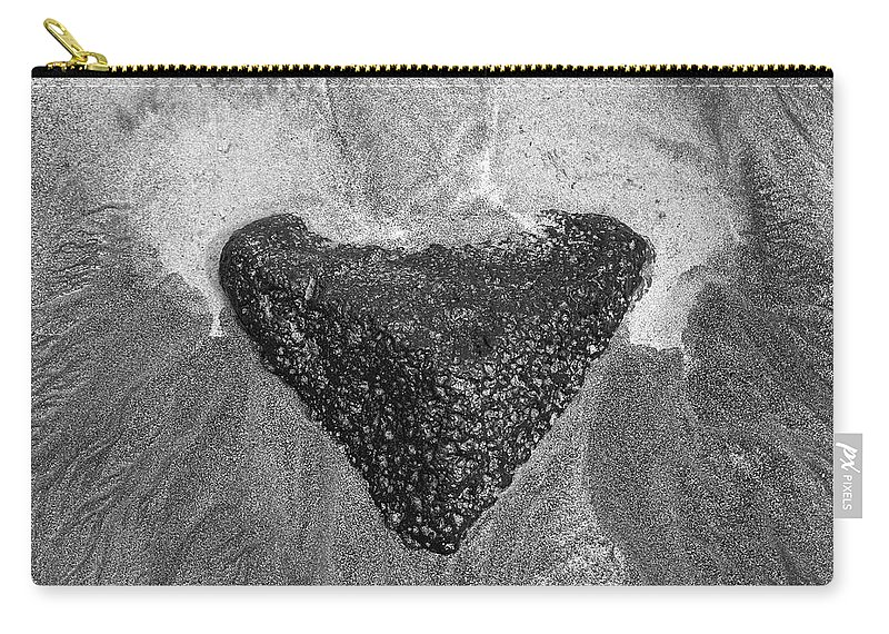 Lava Carry-all Pouch featuring the photograph Heart Of Stone by Venetia Featherstone-Witty