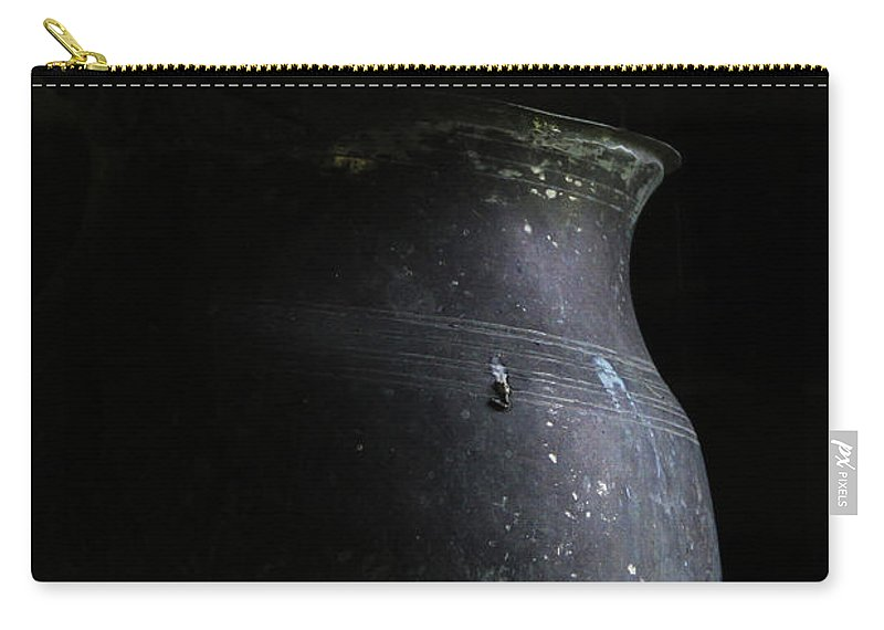 Ewer Carry-all Pouch featuring the photograph Hearth Pot by Guy Shultz