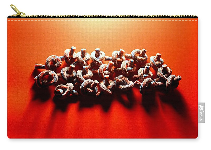 Heat Print Carry-all Pouch featuring the photograph Heat by J Allen