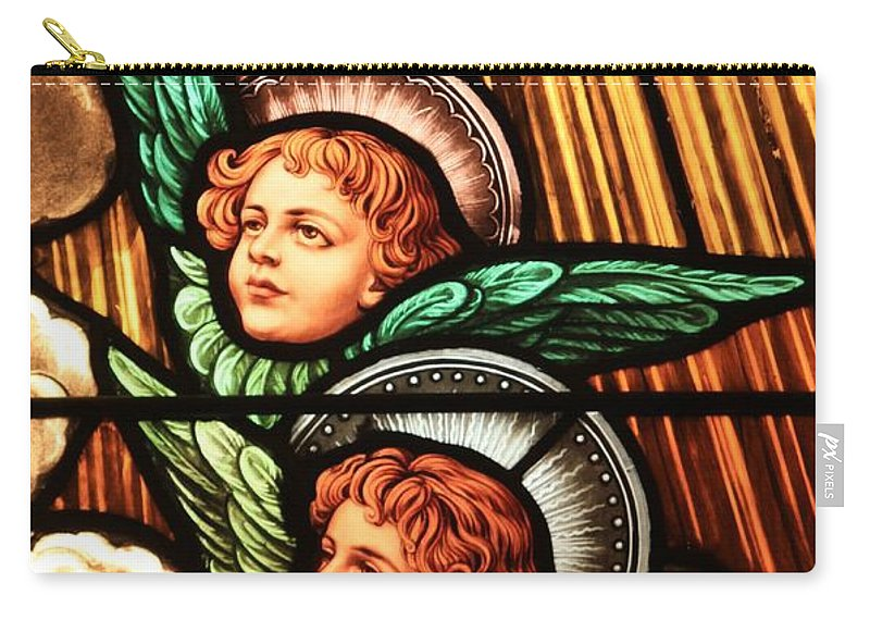 Angels Carry-all Pouch featuring the photograph Heavenly Angels by Adam Jewell