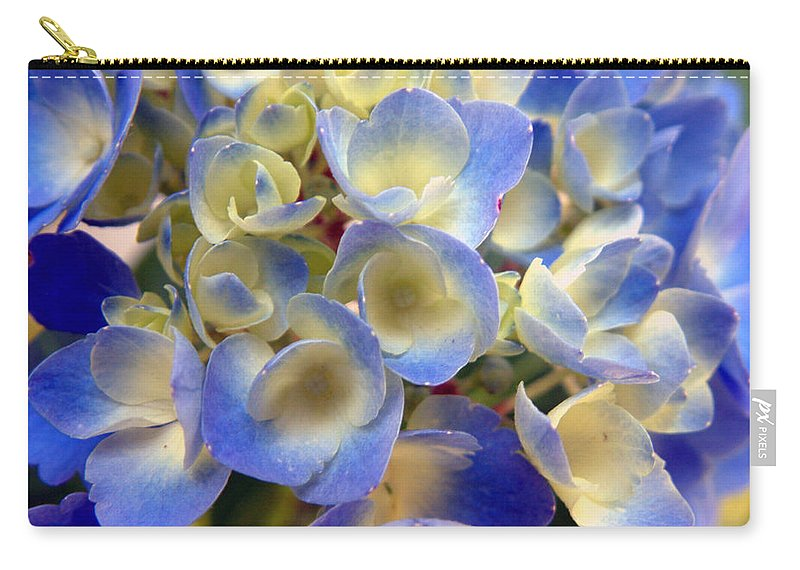 Floral Carry-all Pouch featuring the photograph Heavenly Blues by RC deWinter