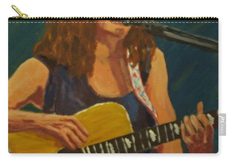 Musician Carry-all Pouch featuring the painting Heavenly Days by David Rodden