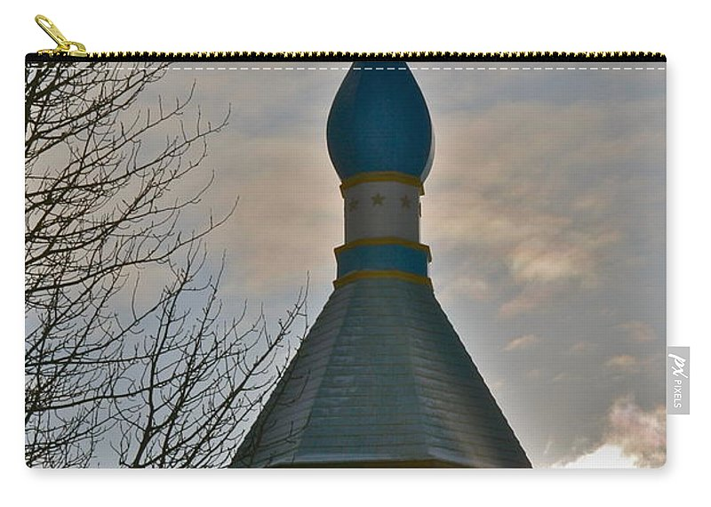 Church Carry-all Pouch featuring the photograph Heavenly Light by Rick Monyahan