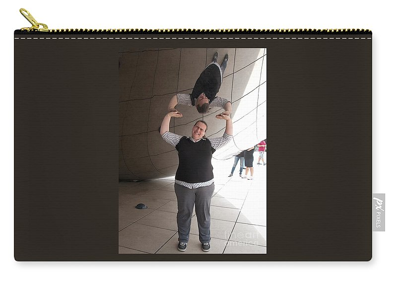 Chicago Carry-all Pouch featuring the photograph Heavy Lifting by Ann Horn