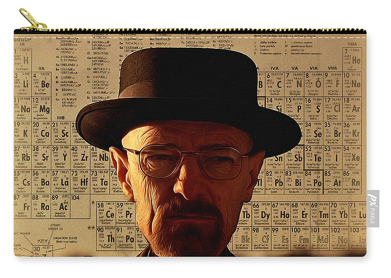 Heisenberg Carry-all Pouch featuring the photograph Heisenberg by Bill Cannon