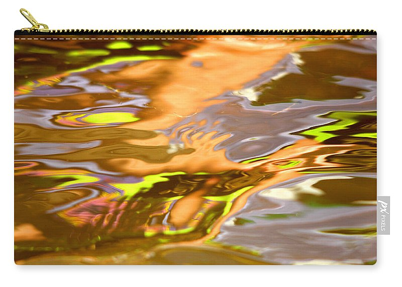 Lake Carry-all Pouch featuring the photograph Helping Hands by Donna Blackhall