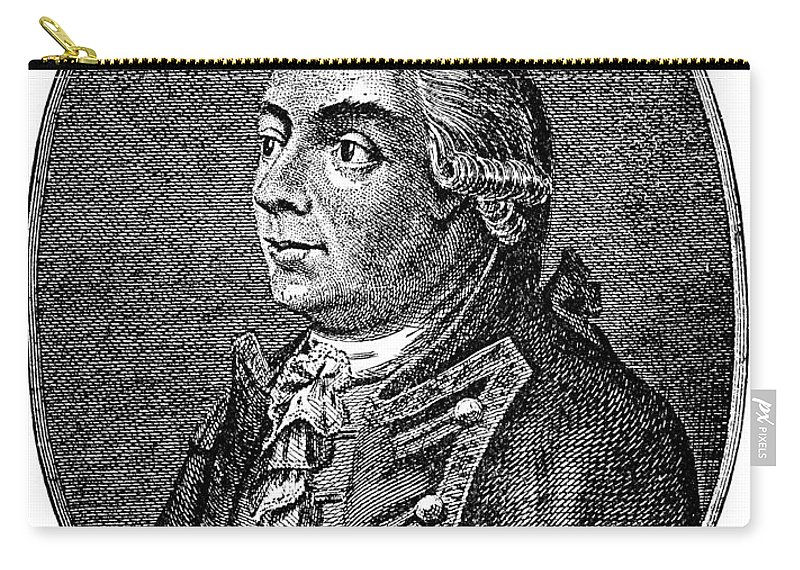 18th Century Carry-all Pouch featuring the photograph Henry Clinton (1738-1795) by Granger