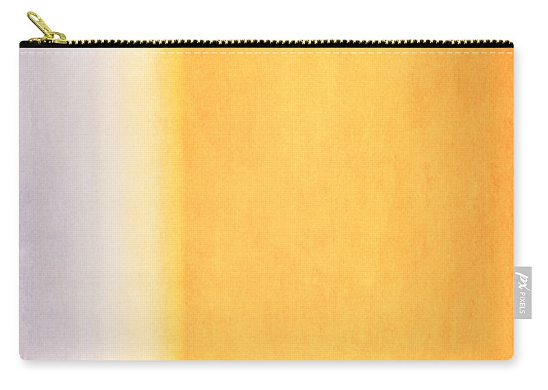 Abstract Carry-all Pouch featuring the mixed media Here Comes The Sun Triptych 3 by Angelina Vick