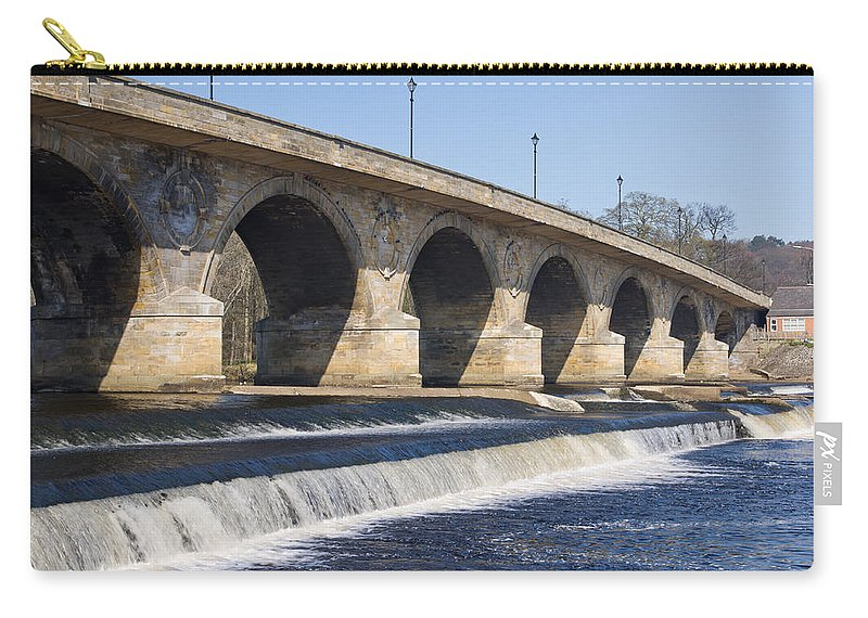 Northumberland Carry-all Pouch featuring the photograph Hexham Bridge by David Head