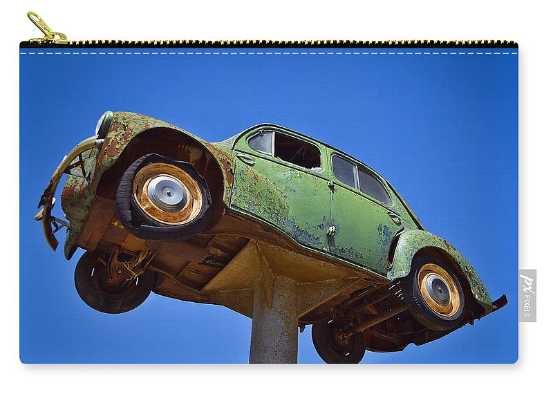 Hi Ho Silver Carry-all Pouch featuring the photograph Hi Ho Silver by Skip Hunt