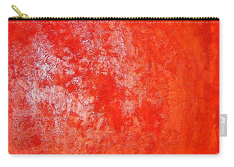 Carry-all Pouch featuring the mixed media Hidden Beauty by Luz Elena Aponte