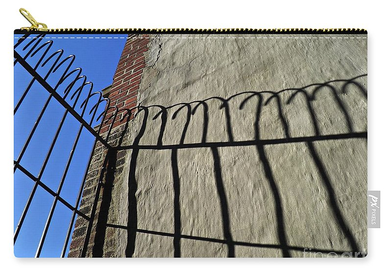 Abstract Carry-all Pouch featuring the photograph High Bars by Sarah Loft
