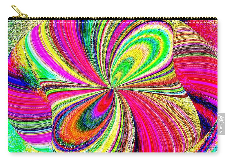 High Definition Color 1 Carry-all Pouch featuring the digital art High Definition Color 1 by Will Borden
