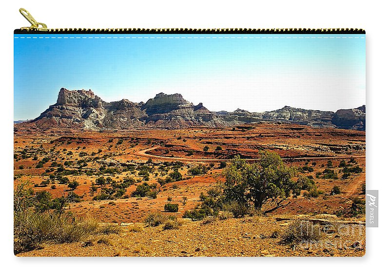 Landscape Carry-all Pouch featuring the photograph High Desert View by Robert Bales