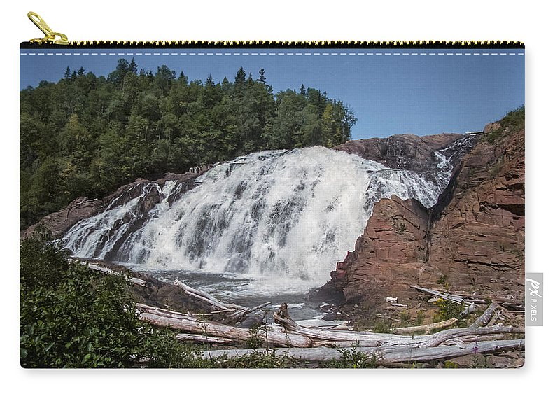 High Carry-all Pouch featuring the photograph High Falls by Richard Kitchen