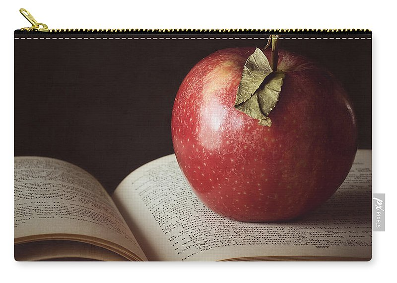 Apple Carry-all Pouch featuring the photograph Higher Learning by Amy Weiss