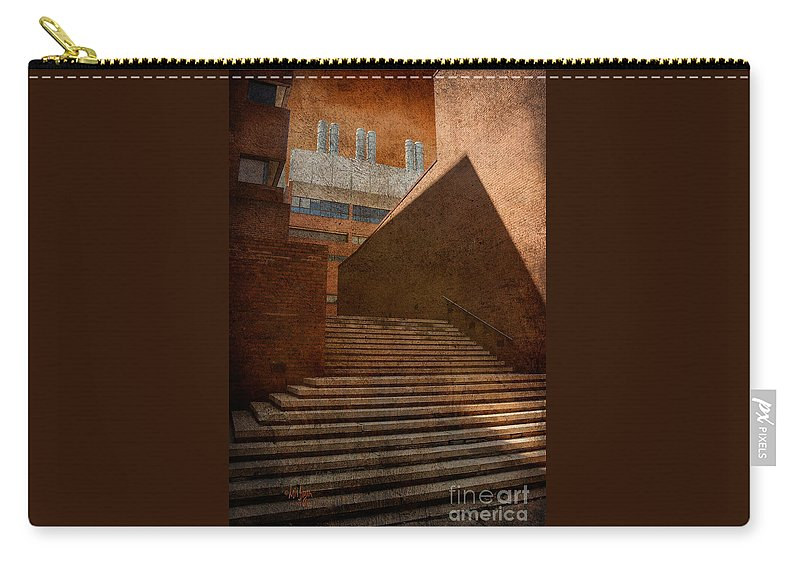 Steps Carry-all Pouch featuring the photograph Higher Learning by Lois Bryan