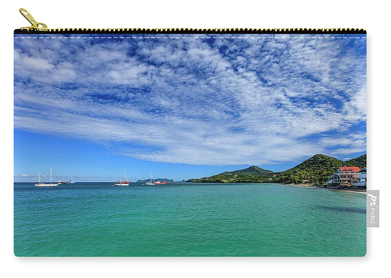 Water's Edge Carry-all Pouch featuring the photograph Hillsborough Bay, Carriacou by Flavio Vallenari