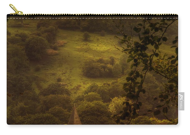 Church Carry-all Pouch featuring the photograph Hillside Sanctuary by Margie Hurwich