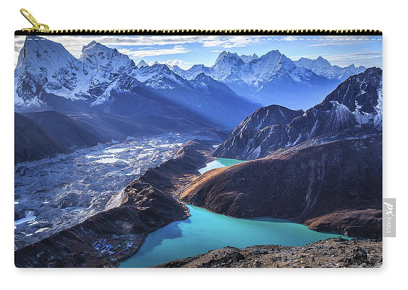 Tranquility Carry-all Pouch featuring the photograph Himalaya Landscape, Gokyo Ri by Feng Wei Photography