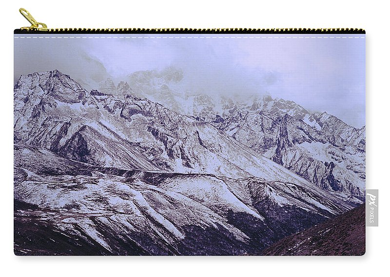Dramatic Landscape Carry-all Pouch featuring the photograph Himalayas by Shaun Higson