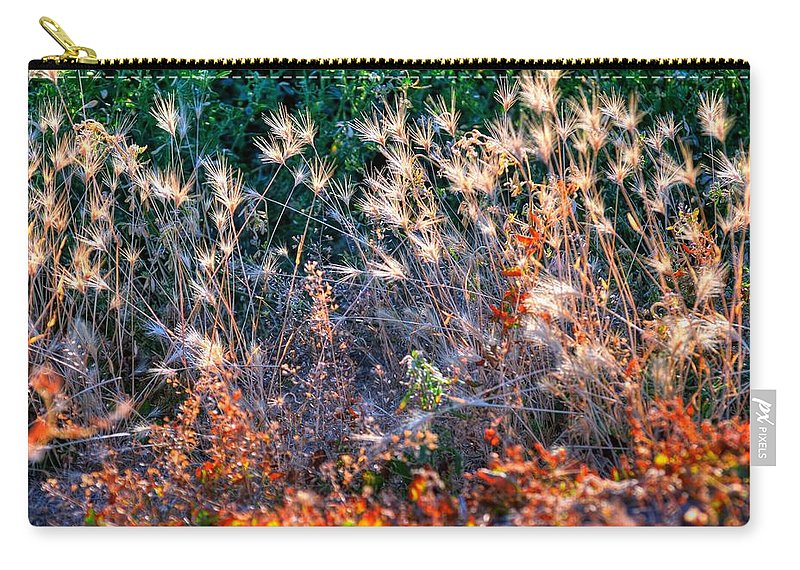 Utah Carry-all Pouch featuring the photograph Hint Of Fall Colors 15813 by Jerry Sodorff