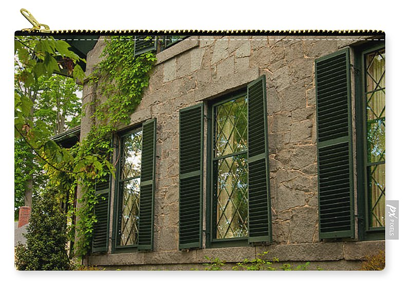 concord Carry-all Pouch featuring the photograph Historic Concord Home by Paul Mangold
