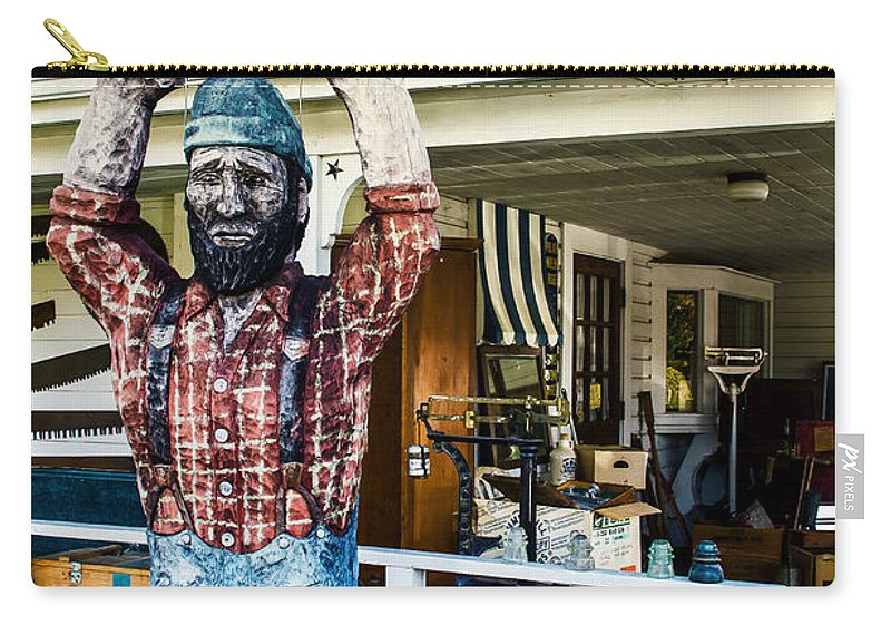 Historic Carry-all Pouch featuring the photograph Historic Eagle Point by Mick Anderson
