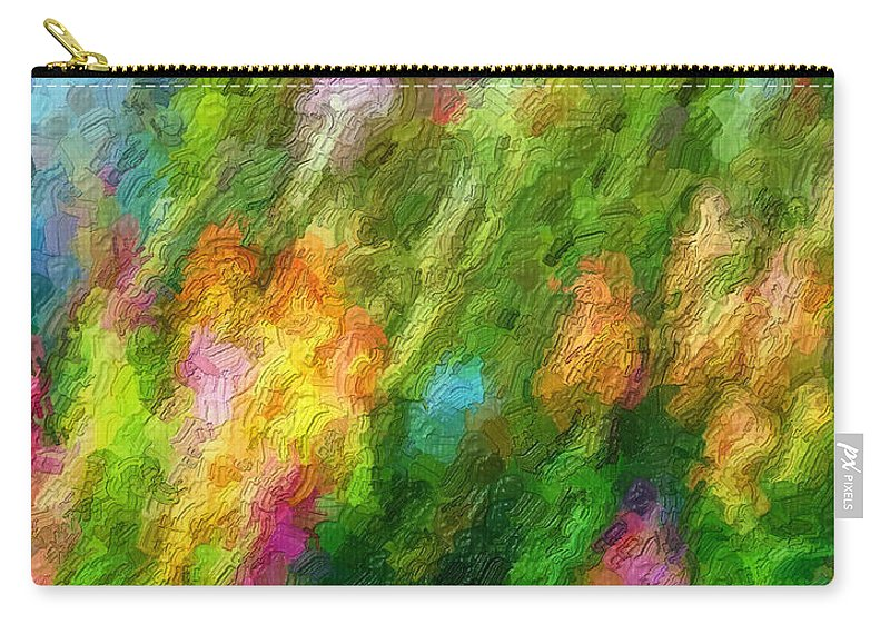 Garden Carry-all Pouch featuring the photograph Hoedown by Steve Harrington