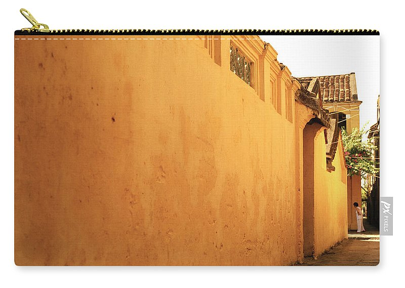 Hoi An Carry-all Pouch featuring the photograph Hoi An Alley by Shaun Higson