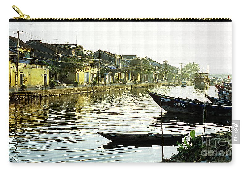 Vietnam Carry-all Pouch featuring the photograph Hoi An Dawn 01 by Rick Piper Photography