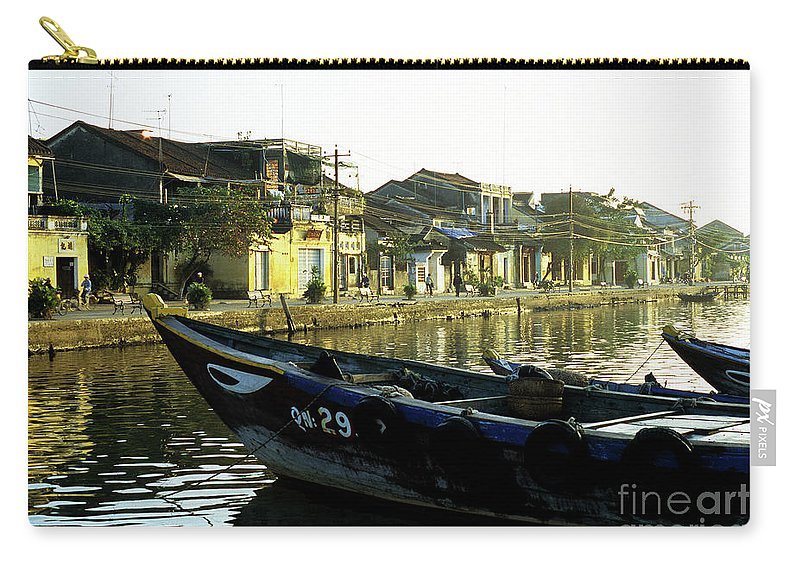 Vietnam Carry-all Pouch featuring the photograph Hoi An Dawn 02 by Rick Piper Photography